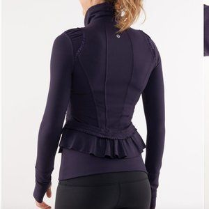 NWT Lululemon City To Yoga Jacket in Black Swan